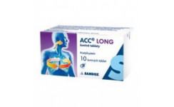 ACC LONG 600 MG ŠUMIVÉ TABLETY 6 ks