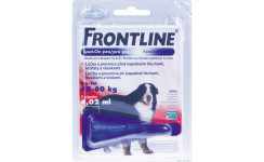 FRONTLINE SPOT ON DOG XL NAD 40kg, 1x4,02ml