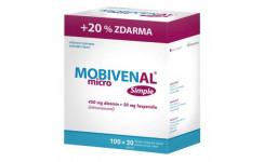 MOBIVENAL MICRO simple 100+20 tbl