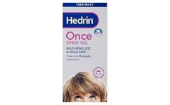 HEDRIN ONCE SPRAY GEL NA VŠI A HNIDY 1x100 ml